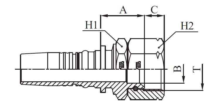 HEMBRA JIC SAE  M42512