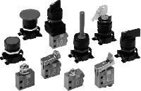 Mini Válvulas de accionamiento mecánico-manual serie VME-1
